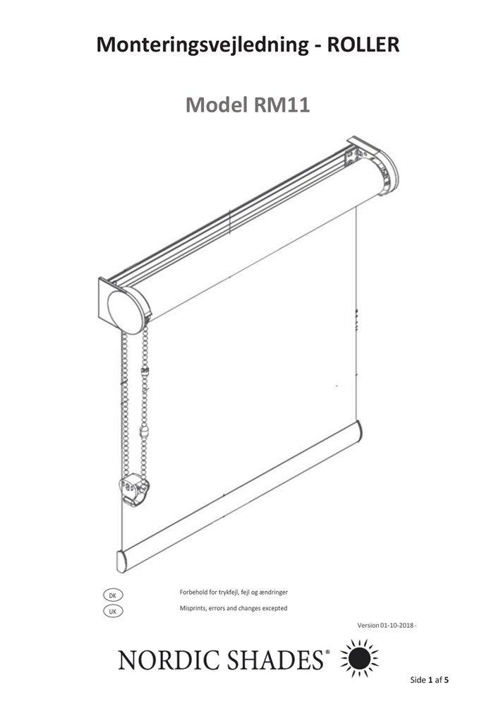 NS - Monteringsvejledning - RM11
