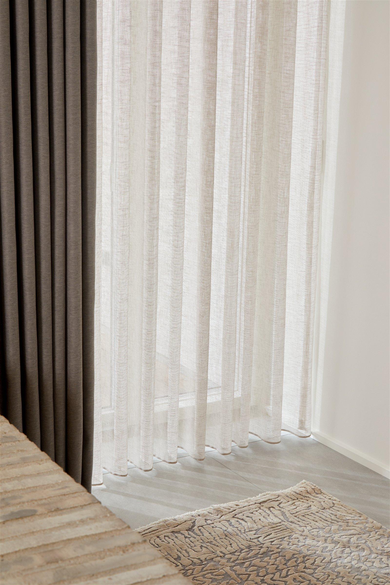 Nordic Shades® stofgardin Elinor syet m. Waves