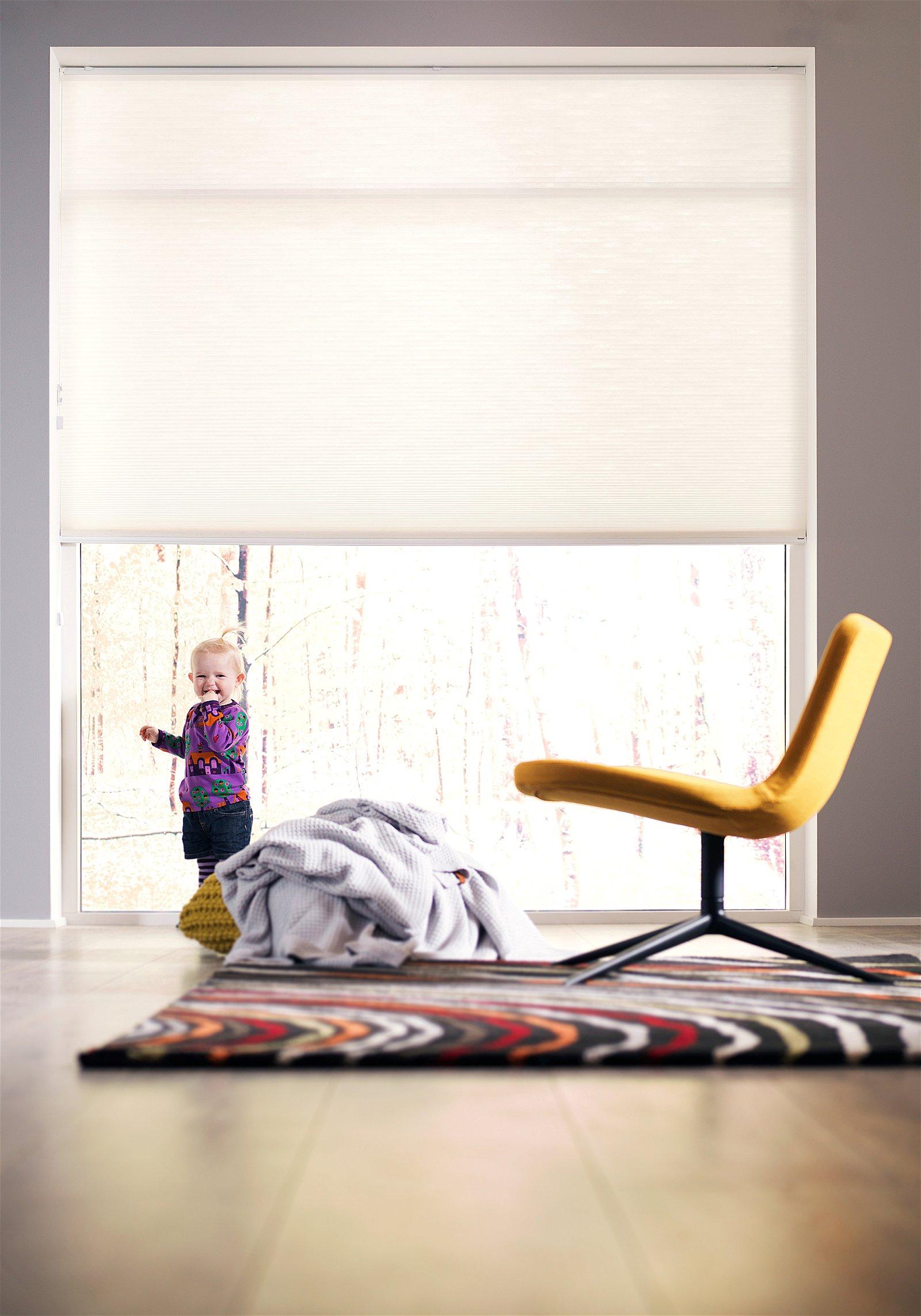 Nordic Shades® Dobbelt plisségardin m. Snoretræk